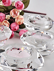 Beter Gifts® -1Piece/Set Crystal Diamond Tealight Candle Holder Wedding Décor Party Favors