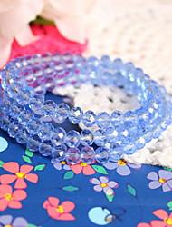 Women Crystal Translucent  Strand Bracelets