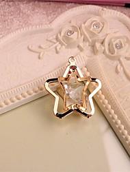jóias diy pingente de mini-estrela