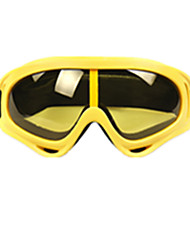 Yellow Color, Other Material Goggle, Windproof Glasses