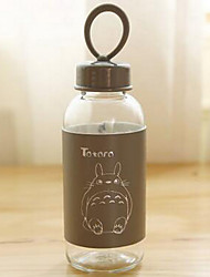 South Korea Cartoon Cup Glass Readily Cup Accompanied Cup Cute Portable Summer Students To Carry Water Bottles