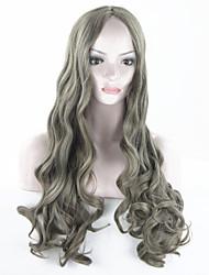 Women Cheap Synthetic Wigs High Quality Fashion Fluffy Fancy  Long Full Wig Wavy Hair Curly Wavy Wigs