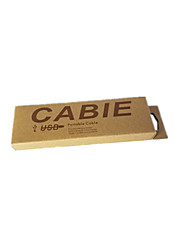 Yellow Color Packaging & Shipping Cable Packaging Box A Pack of Twelve
