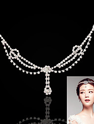 Women's Alloy Headpiece-Wedding / Special Occasion / Casual Head Chain 1 Piece