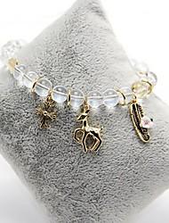 Strand Bracelets 1pc,Clear Bracelet Fashionable Circle 514 Glass Jewellery