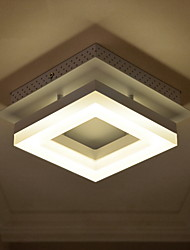 9W Modern/Contemporary Led Acrylic Flush Mount Living Room / Bedroom / Dining Room / Kitchen / Study Room/Office