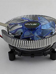 Bingfeng Lanbing Version Intel 775 1155 AMD Cpu Heatsink Multi-platform Mute LIGHT