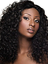 Top Quality Long Curly Black Color Synthetic Wig