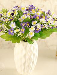 Hi-Q 1Pc Decorative Flower Violet Wedding Home Table Decoration Artificial Flowers