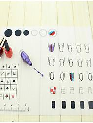 Ferramentas de pintura Prego SalonTool Nail Art Make Up