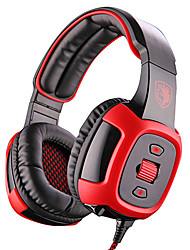 SADES SA-906I 7.1 Channel Sound Deep Bass Vibration On-Ear Gaming Headset Headphone