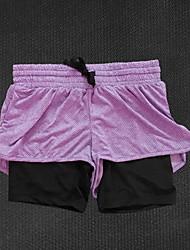 Corrida Calças Mulheres Respirável / Confortável Algodão / Náilon Chinês Corrida Esportivo Stretchy SoltoRoupas para Lazer / Espetáculo /