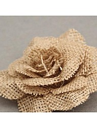 Jute Wedding Decorations-1Piece/Set Artificial Flower Wedding / Birthday Garden Theme Brown Spring