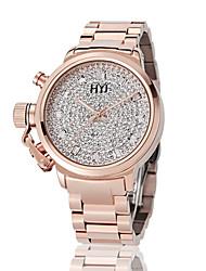 HongKong  HYJ diamond japan movement waterproof watch 588A