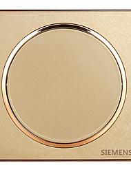 un interrupteur mural circulaire de commande unique