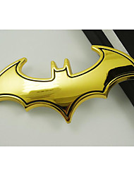 3D Metal Bats In Car, Car Decoration