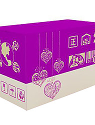 Purple Color Other Material Packaging & Shipping Packing Boxes A Pack of Five