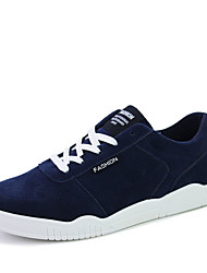 Men's Sneakers Spring / Fall Comfort / Flats Fabric / Tulle Athletic /  Black / Blue / Red / Black and White