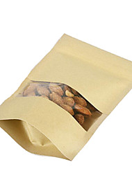Spot Kraft Paper Bags Of Rice Grains Millet Nuts Dried Fruit Bags A Pack Of Ten Windows