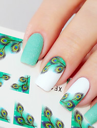 1 Autocollant d'art de clou Maquillage cosmétique Nail Art Design