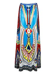 Women's Boho In Colour Maxi Skirt-2615