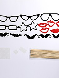 15 Pcs Party Photo Booth Props Holiday Decorations Party MasksCool For Holiday Party Graduation Birthdays Wedding