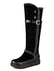 Women's Boots Winter Snow Boots / Round Toe Platform Buckle Black / Brown / Almond Snow Boots / Others