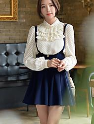 short solide pantalon dabuwawa femmes, vintage / street chic / sophistiquée