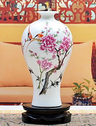 Jingdezhen Ceramic Vase Pastel Small Classical Crafts Ornaments (Random Pattern)