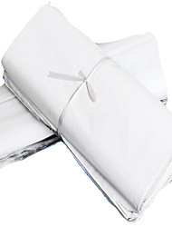 Specializing In The Production Of White  Logistics Courier Bags Express Waterproof Pouch Bags Of Postal Parcels