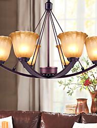 5 Lámparas Araña ,  Rústico/Campestre Pintura Característica for Mini Estilo Metal Sala de estar / Dormitorio / Comedor