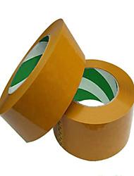 amarillento mayorista transparente sellado cinta de cinta de 2,5 cm de ancho y 4,5 cm de espesor Taobao cinta personalizar