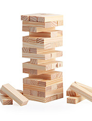 48 Blocks Mini Wood Stacking & Tumble Tower Blocks Game