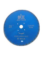 цемент резки алмазные диски (спецификация: 500 * 4 мм, внутренний диаметр: 50 мм; максимальная скорость линии: 30000RPM)