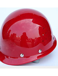 White, yellow, red, blue glass and steel high-strength anti-smashing class site labor helmet