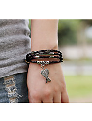 Leather Bracelets 1pc,Brown Bracelet Vintage Circle 514 Leather Jewellery