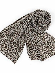 Chiffon Leopard Scarf Chiffon Scarf Wholesale Jewelry Wild