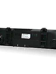 Koonlung 4.3 Polegadas SQ / Generalplus (Taiwan) Cartão TF Preto Carro Câmera