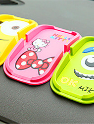 0584 Fashion Cartoon Mobile Phone Stand Silica Gel Mobile Phone Support Multi Function Anti Slip Car