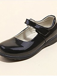 Girl's Comfort Pointed Toe Flat Patent Leather Loafers Shoes Dress shoes Students-shoes school shoes Performance shoes