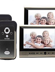 KiVOS KDB700 Wireless Visual Doorbell Household Plug in Electric Camera Monitoring Lock