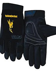 wei Teshi 10-2660 machinistes court beaux gants de peau de porc de la protection du travail et durable anti-dérapant taille de conduite l