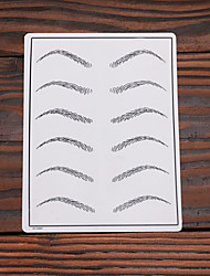 10Pcs Eyebrow Tattoo Makeup Practice Skin 15*20cm Fake Skin Cosmetic Supply