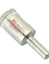 REWIN hulpmiddel gelegeerd staal glas gaten opener hole size-20mm 10st / doos