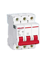 interruptor do ar 125a dz47-125h 3p caixa moldada pequena disjuntor
