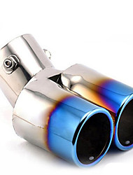 Automobile Tail Throat Exhaust Pipe Upset Stainless Steel