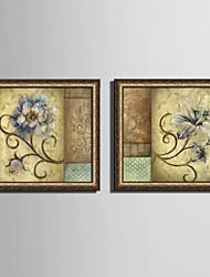E-HOME® Framed Canvas Art,  Flower Framed Canvas Print One Pcs