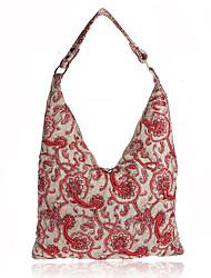 L.west Women Elegant High-grade Linen Evening Bag