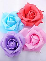 Matériel écologique Décorations de Mariage-12Pièce / Set Fleur ArtificielleAnniversaire Noël Halloween Saint Valentin Thanksgiving
