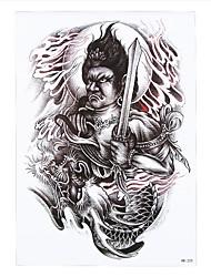 1pc Fake Armband Sword Buddha Dragon Tattoo Temporary Women Men Body Sleeve Art Tattoo Sticker HB-225
